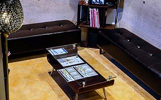 株式会社SKY 運営事業 エステサロン事業 店舗写真 新宿店 店内写真 待合室